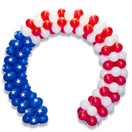 Patriotic Balloon Arch Parade Float Kit