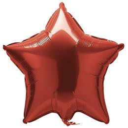 Foil Star Balloon-Red