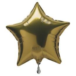 Gold Foil Star Balloon