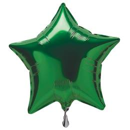 Green Foil Star Balloon