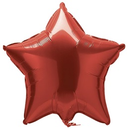 Red Foil Star Balloon