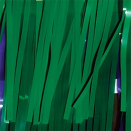 Grass Green Vinyl Fringe
