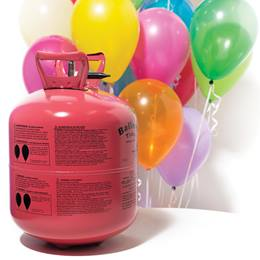 Disposable Helium Tank and Balloons Kit