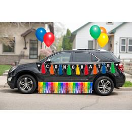 Rainbow Graduation Car Parade Decoration Kit