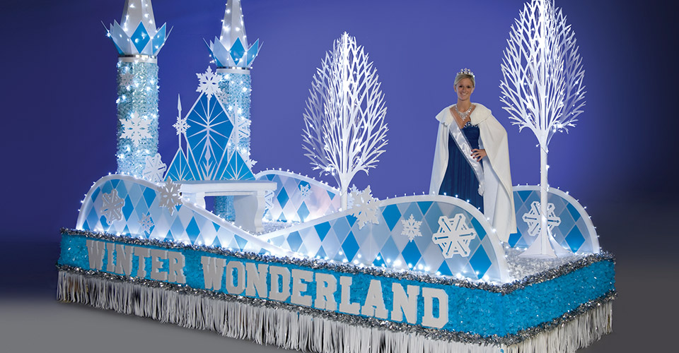 Winter and Holiday Parade Float Theme Ideas