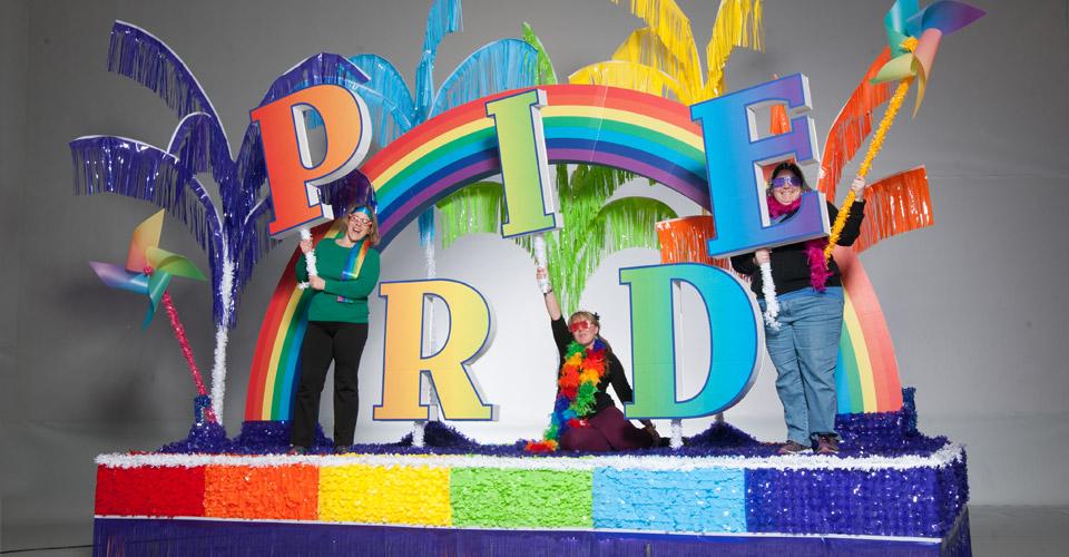 Complete Rainbow Pride Parade Float Decorating Kit